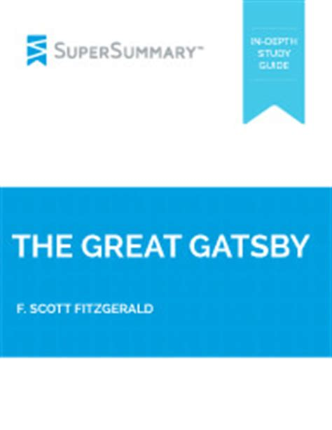 The Great Gatsby Literary Analysis - Essay